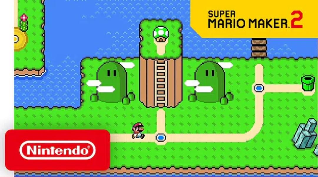 Nueva actualización para Super Mario Maker 2