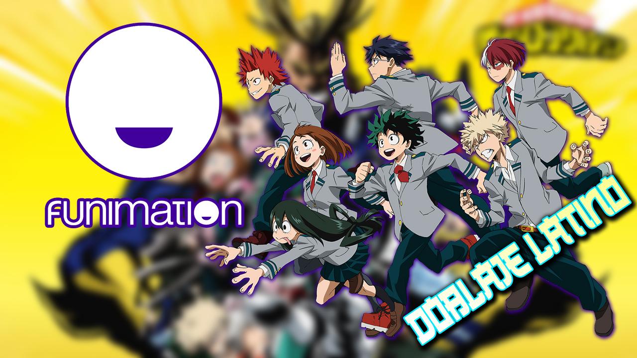 Ya es Oficial! My Hero Academia estará con Doblaje en FunimationMx