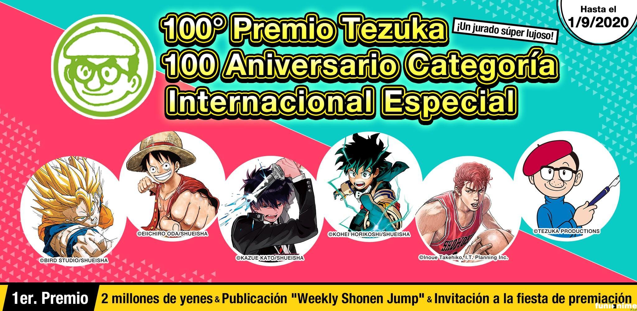 Información Premio Tezuka