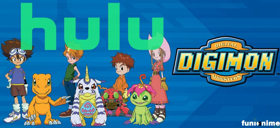 Photo of Digimon llega a Hulu