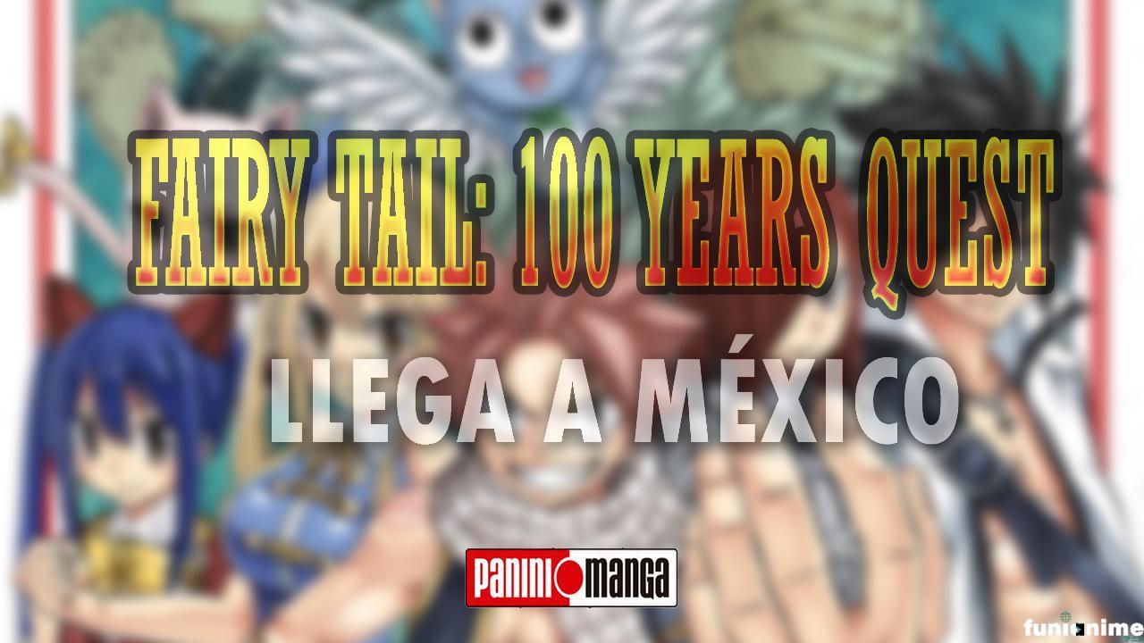 Photo of Panini Manga Mx Anuncia la llegada de «Fairy Tail: 100 Years Quest» a México