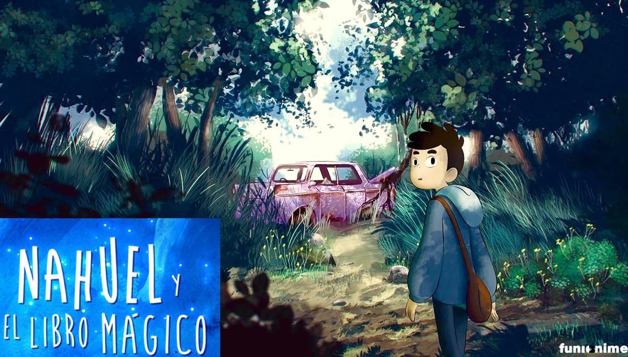 nahuel y el libro mágico trailer estreno 2020