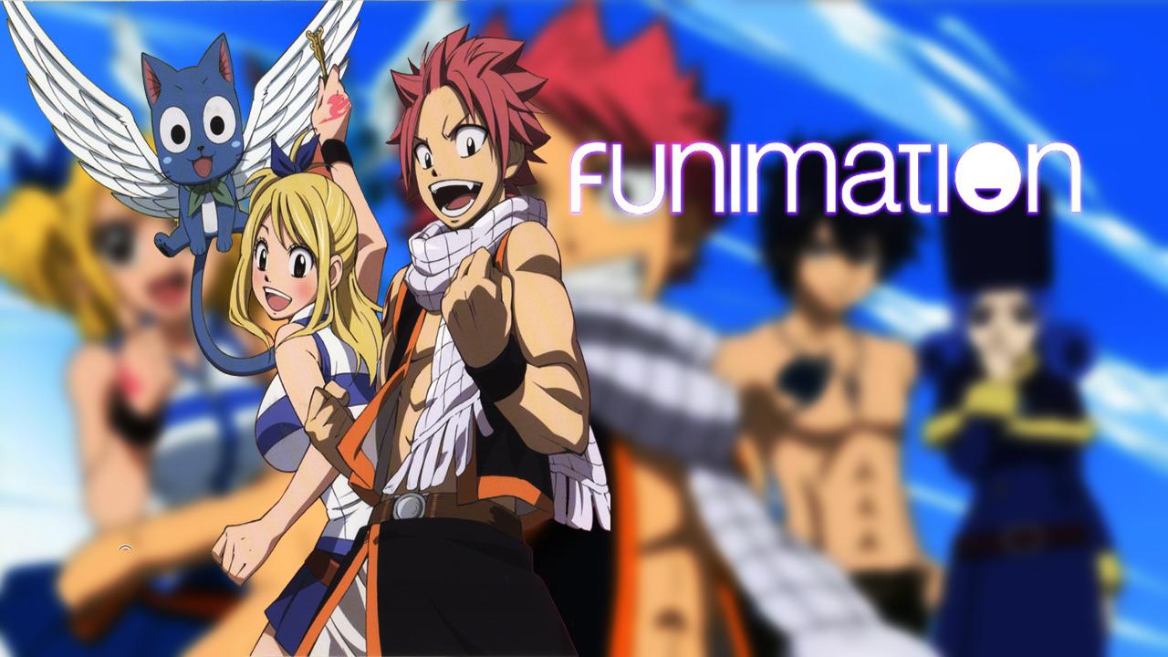 Photo of Fairy Tail Se Suma al catalogo de Funimation Latinoamérica