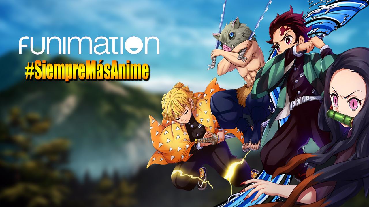 Funimation Mx Anuncia la llegada de Kimetsu no Yaiba