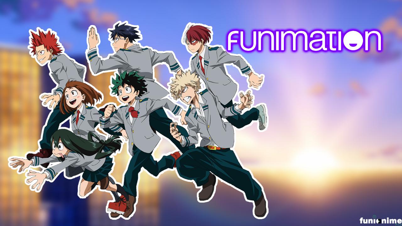 Photo of Plus Ultra! My hero Academia estará pronto en Funimation Latinoamérica