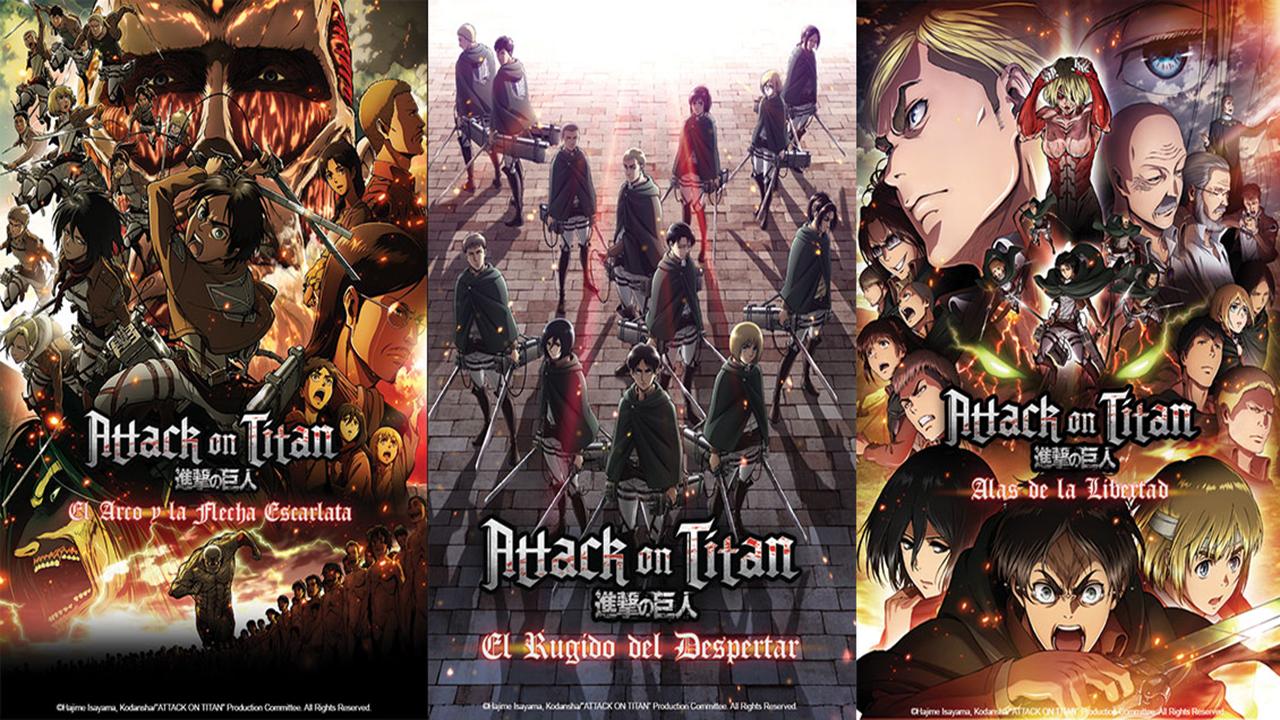 """Las Películas de """"Attack on Titan"""" Llegarán a los Cines con Doblaje Latino"""