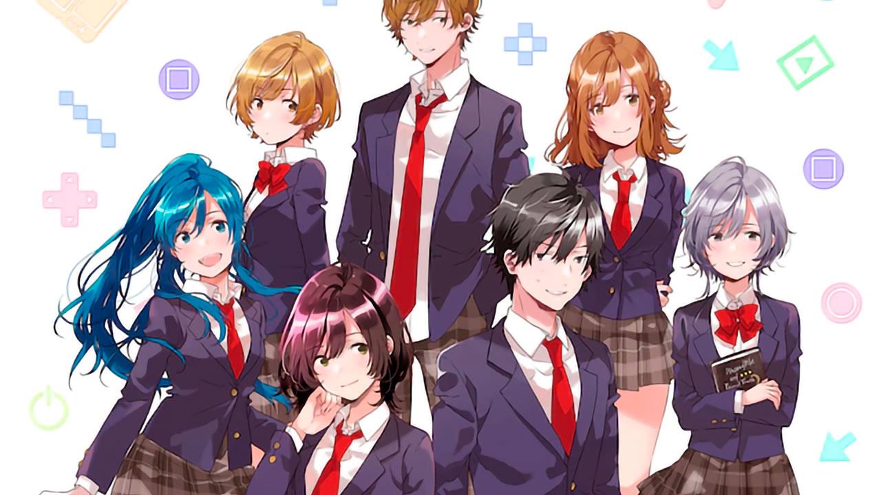 Jaku-chara Tomozaki-kun Revela Parte de su Staff y Fecha de Estreno
