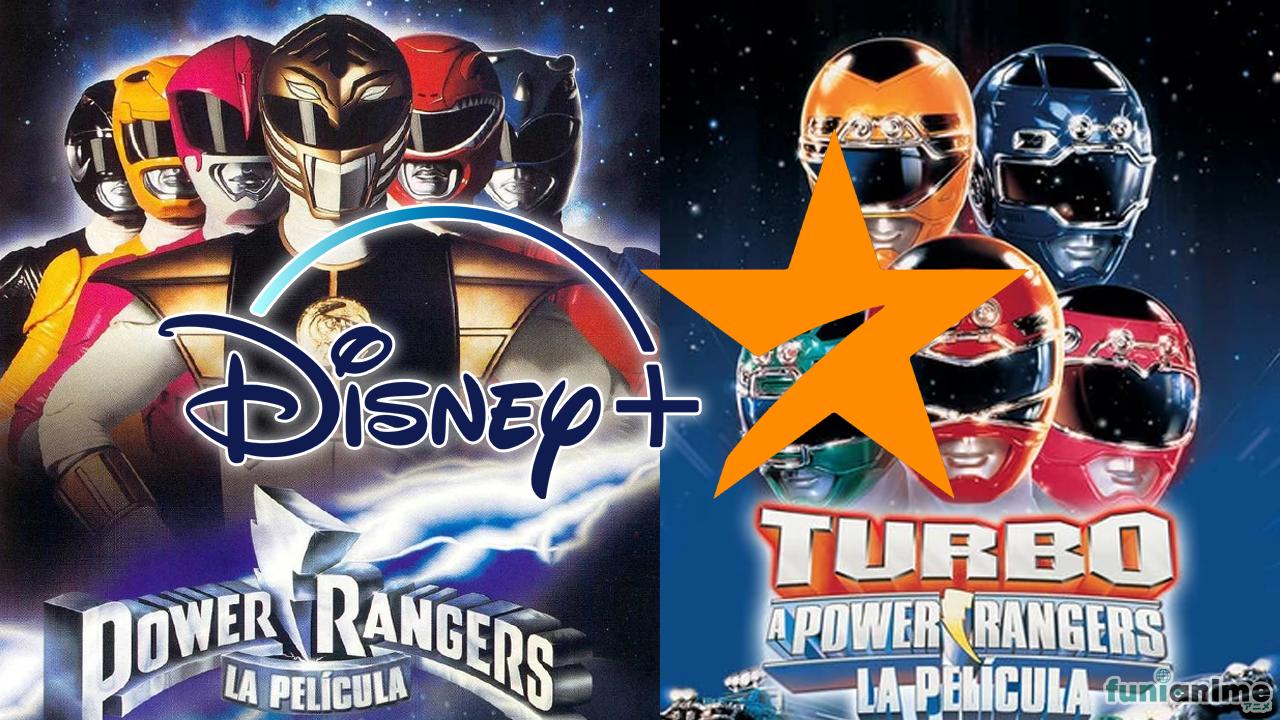 Chao Netflix, Las películas de los Power Rangers llegarán a STAR de Disney+