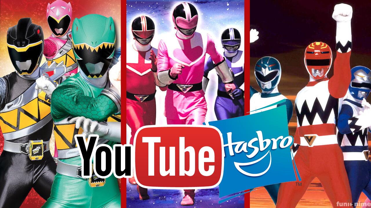 Los Power Rangers llegarán a Youtube luego de su salida de Netflix