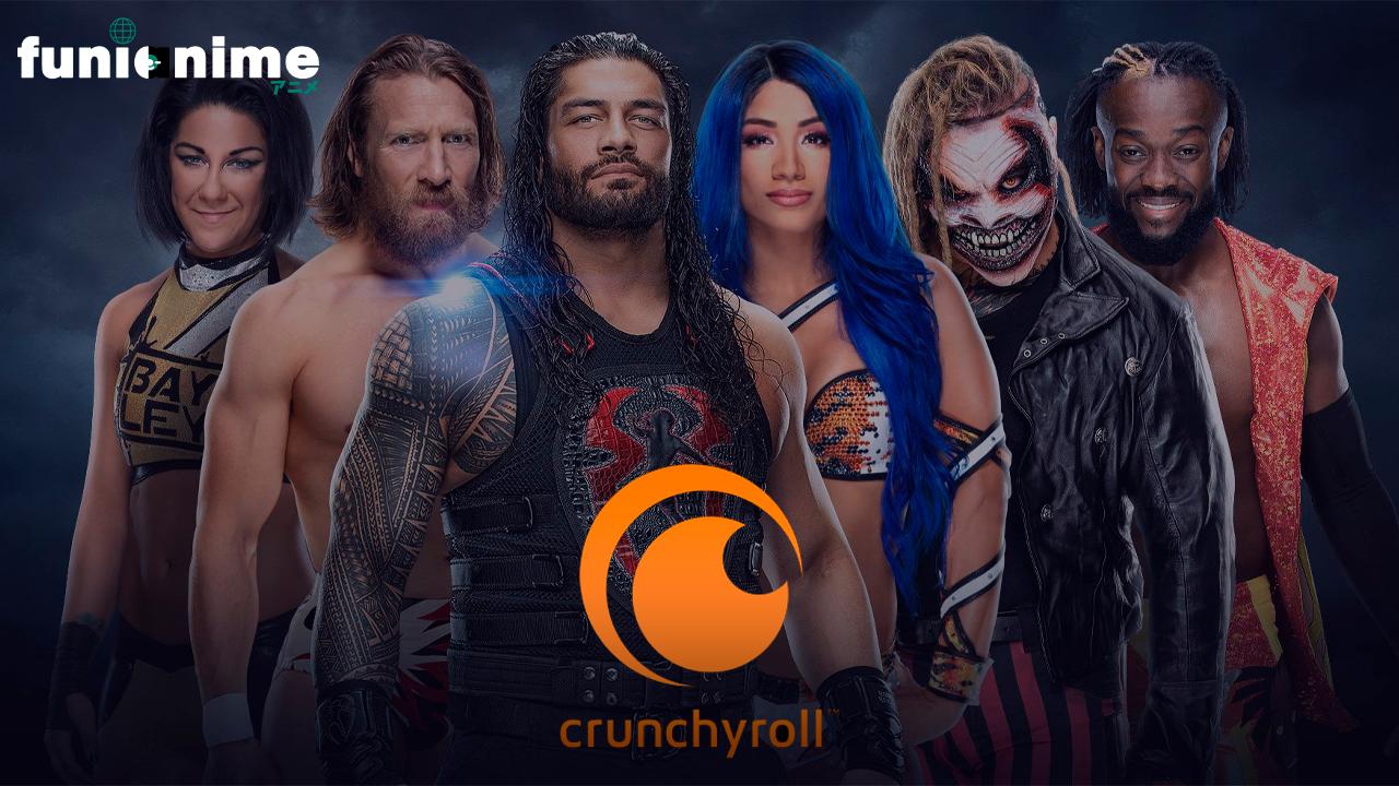 Un ejecutivo de la WWE habló de la colaboración con Crunchyroll