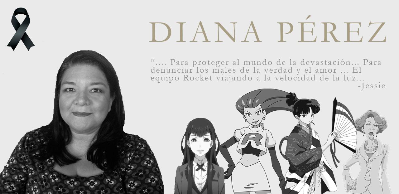 La actriz de doblaje Diana Pérez falleció a los 51 años