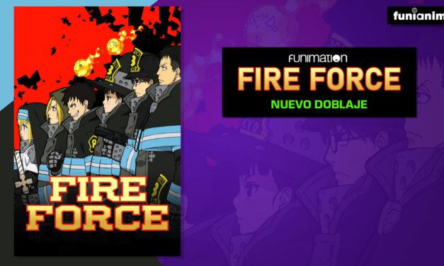 Llega el doblaje en latino de Fire Force a Funimation