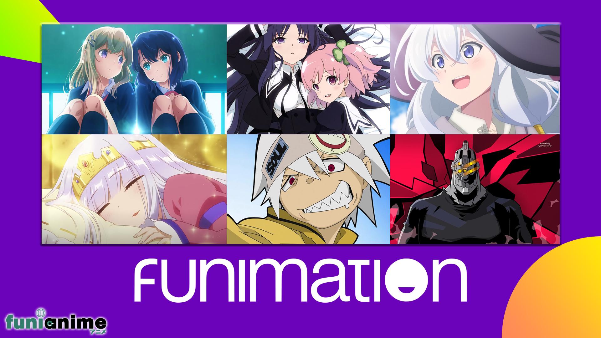 Llegan mas series a Funimation
