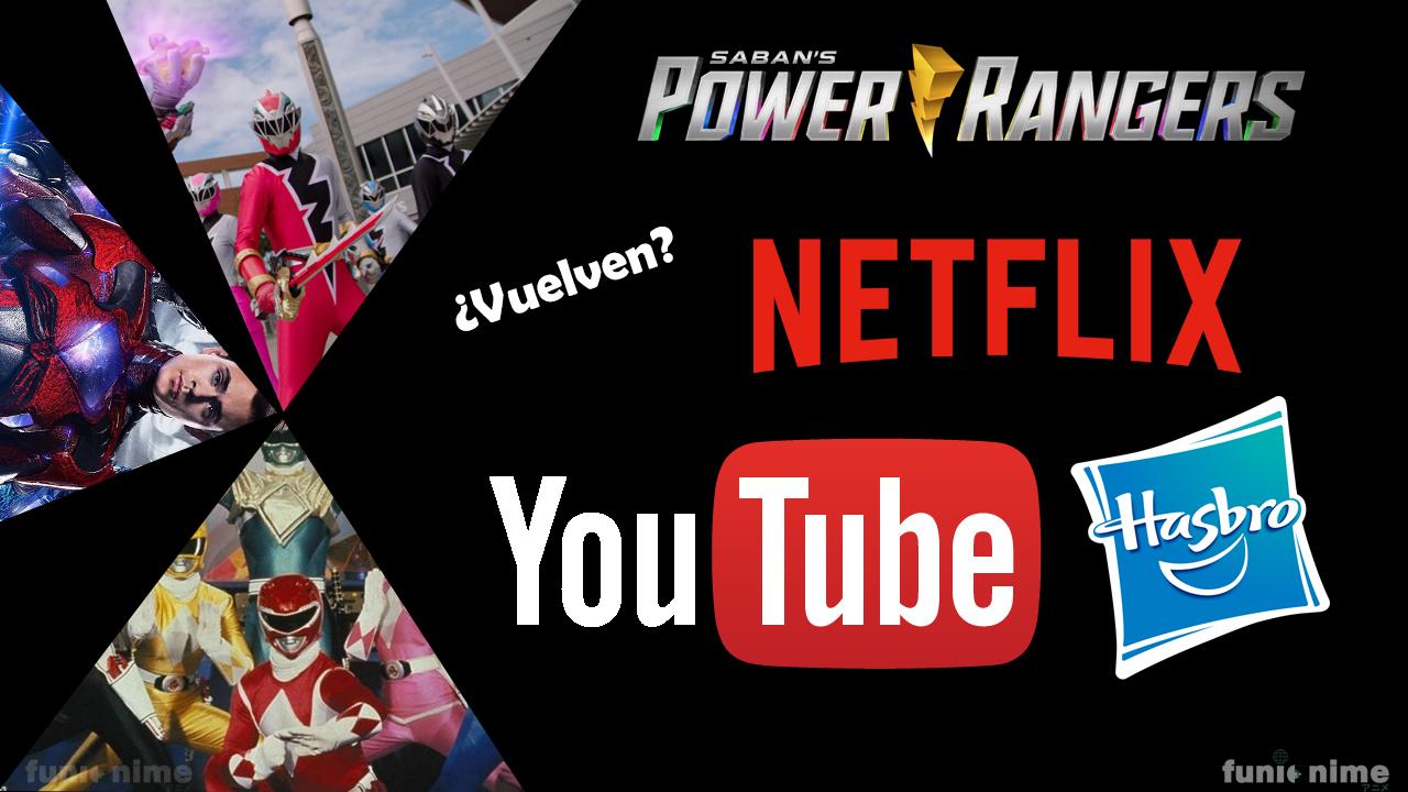 El nuevo hogar de la franquicia de Power Rangers ¿Netflix o Youtube? 2021