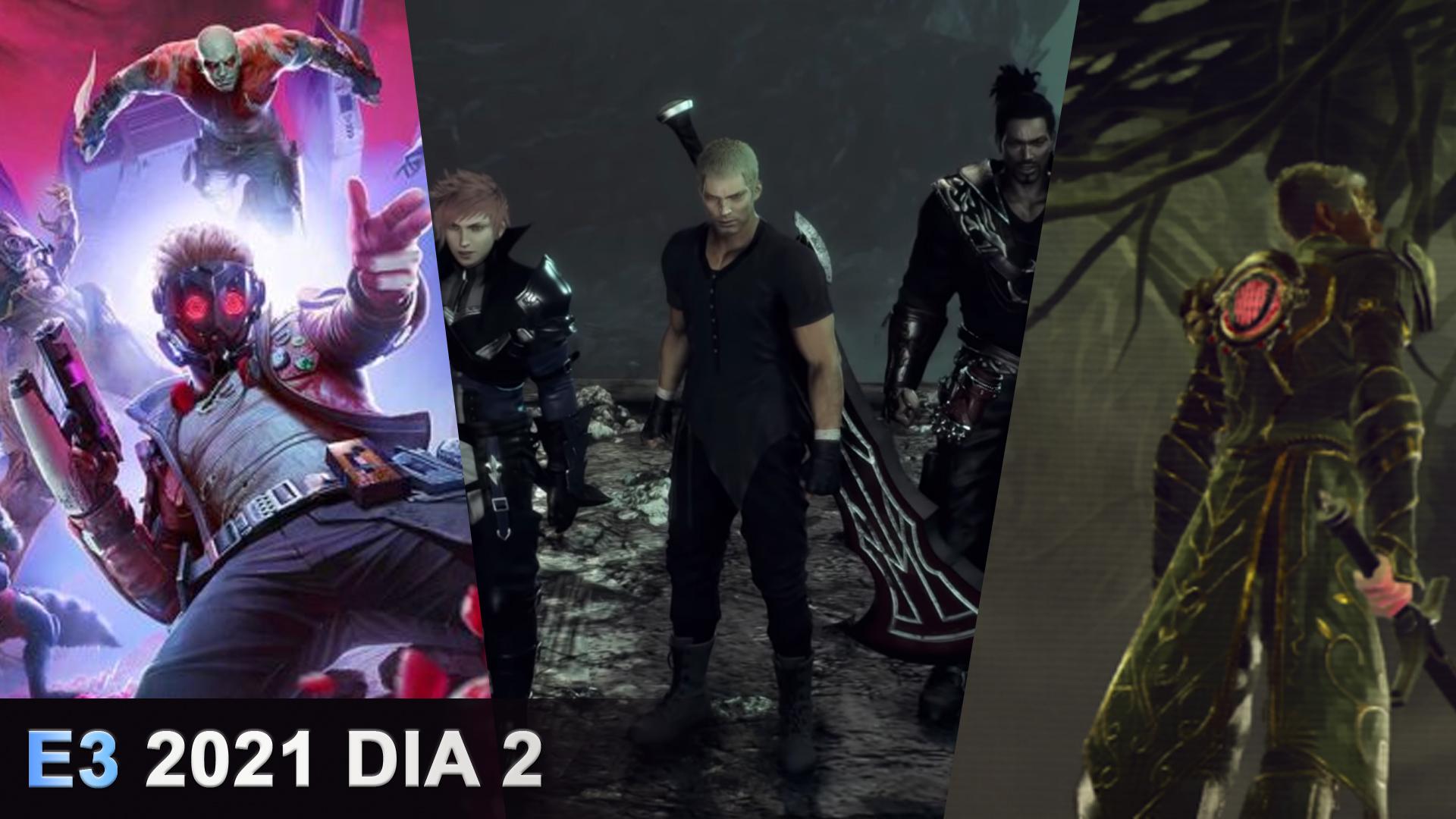 Super resumen del día 2 del E3-2021