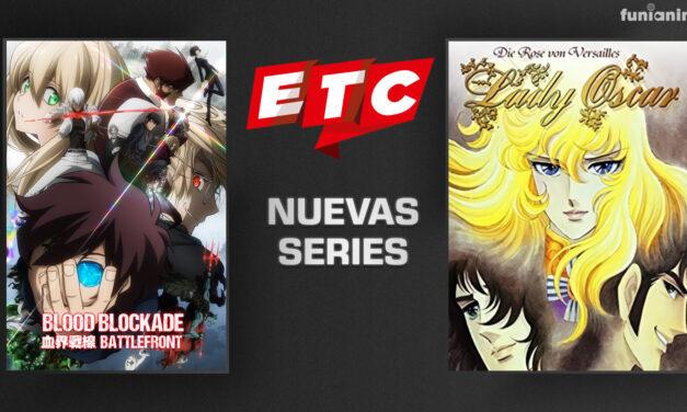 Blood Blockade Battlefront y Lady Oscar llegan al canal chileno ETC