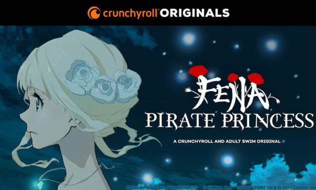 """Crunchyroll revela tráiler de su anime original """"Fena: Pirate Princess"""""""