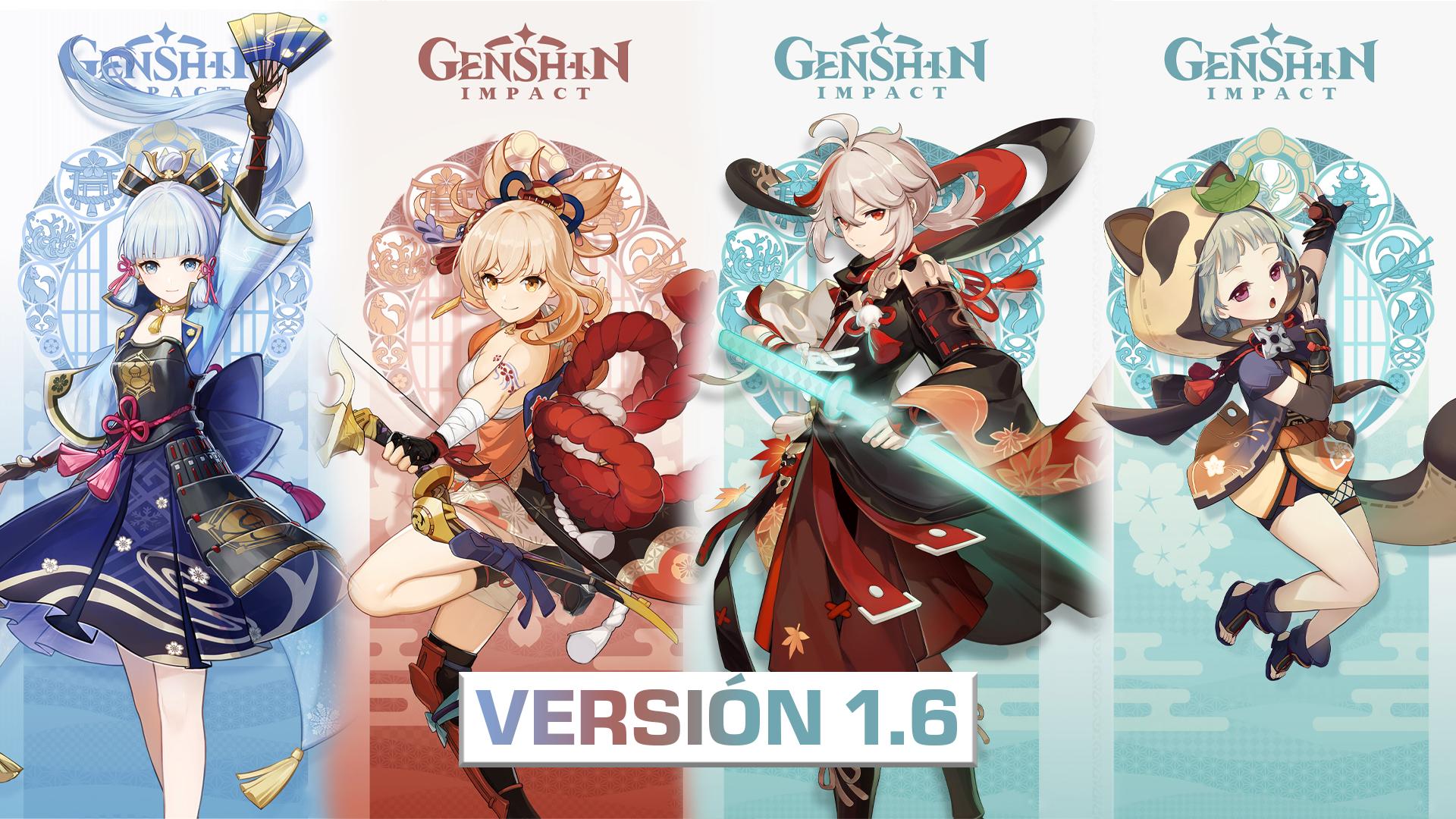 Genshin Impact versión 1.6 ¡Verano, islas, aventuras!