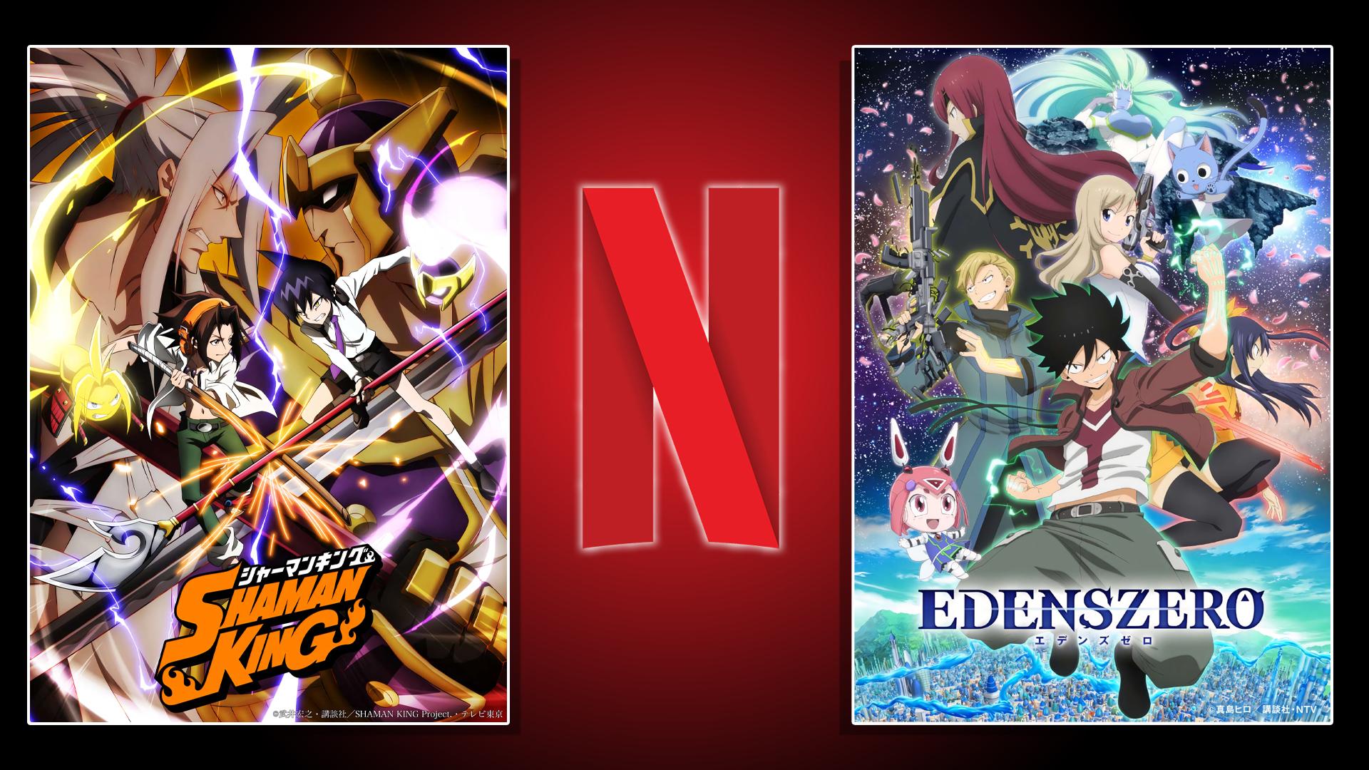 Shaman King, Edens Zero y las películas de Gundam ya tienen fecha de estreno en Netflix