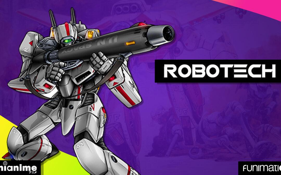 La llegada de Robotech a Funimation trae más sorpresas para los fanáticos
