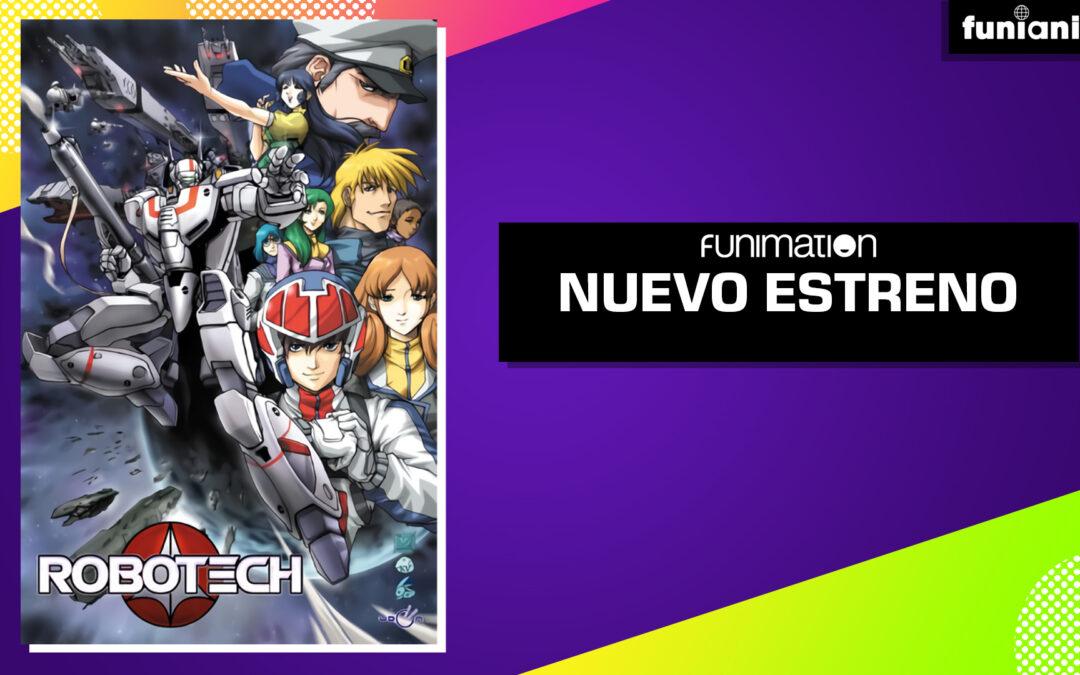 Robotech llega a Funimation