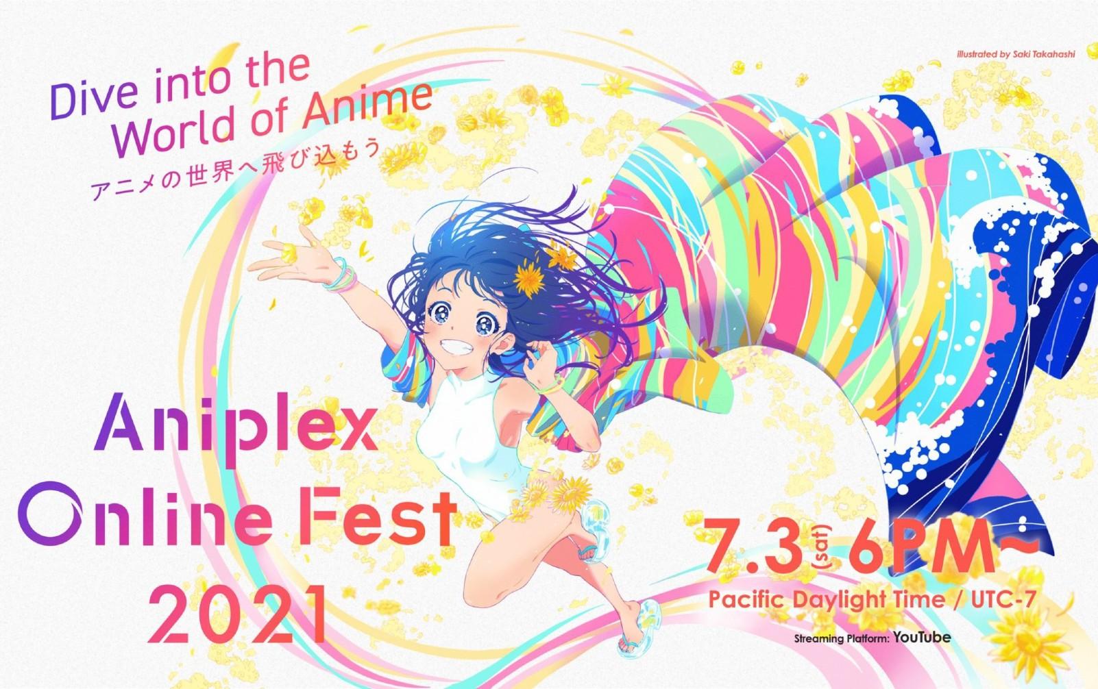 Aniplex Online Fest 2021 tendrá a Aimer, ClariS, LiSA, ReoNa, y Hiroyuki Sawano