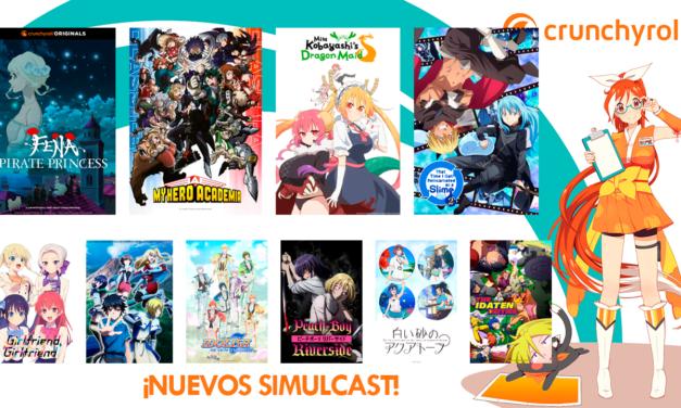 Crunchyroll anuncia su temporada de verano 2021!