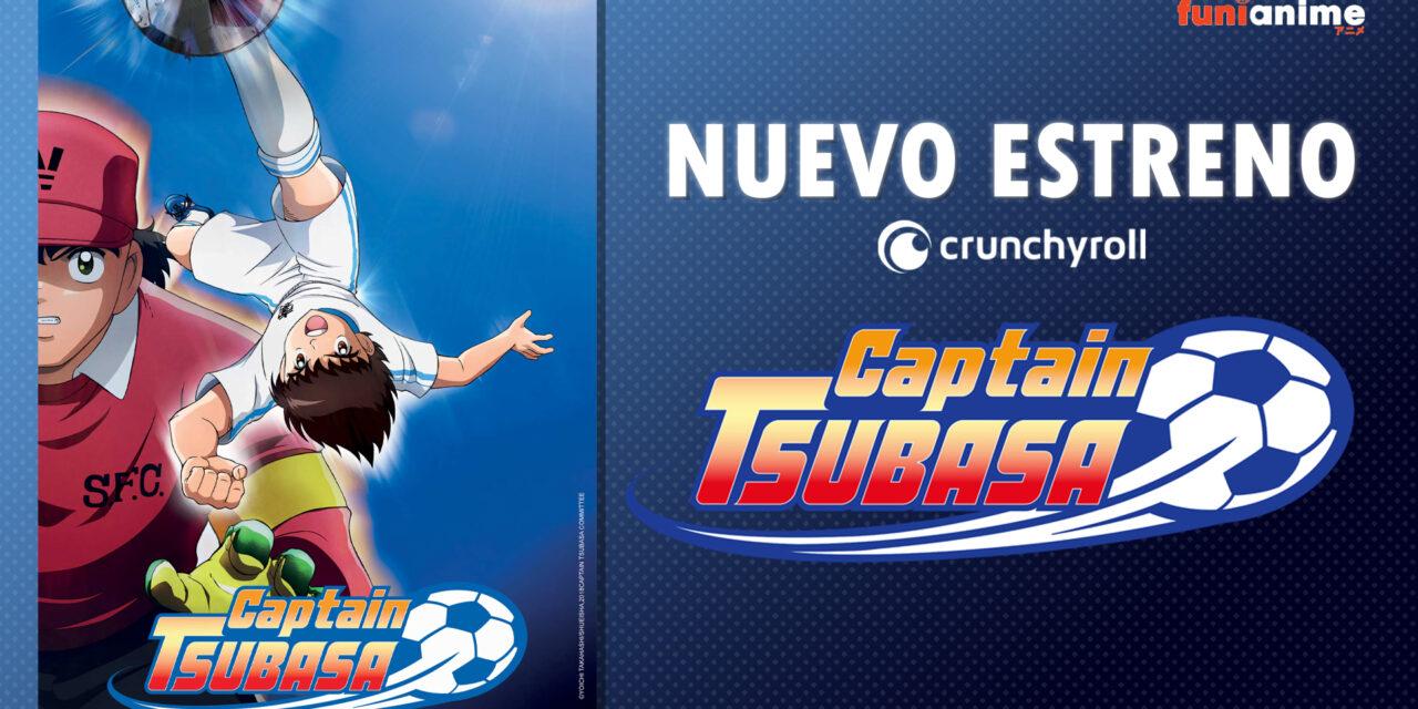 Captain Tsubasa (2018) se encuentra disponible en @crunchyroll_la