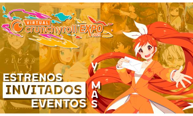 La Virtual Crunchyroll Expo será del 5 al 7 de agosto