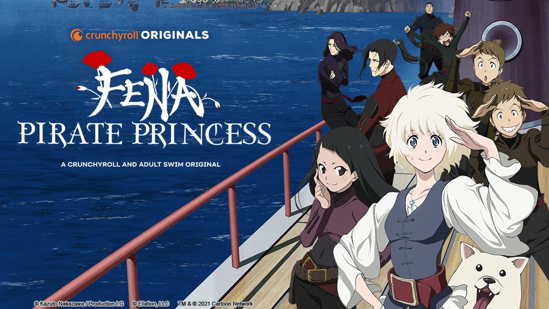 Fena: Pirate Princess se estrena el 14 de agosto en Crunchyroll y Adult Swim, se revelan nuevas imágenes y tráiler