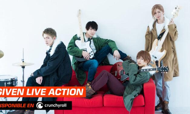 Llega el Live Action de #Given a #Crunchyroll