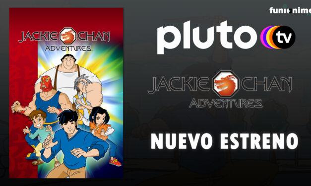 """""""Las Aventuras de Jackie Chan"""" llegó al servicio de Pluto TV"""