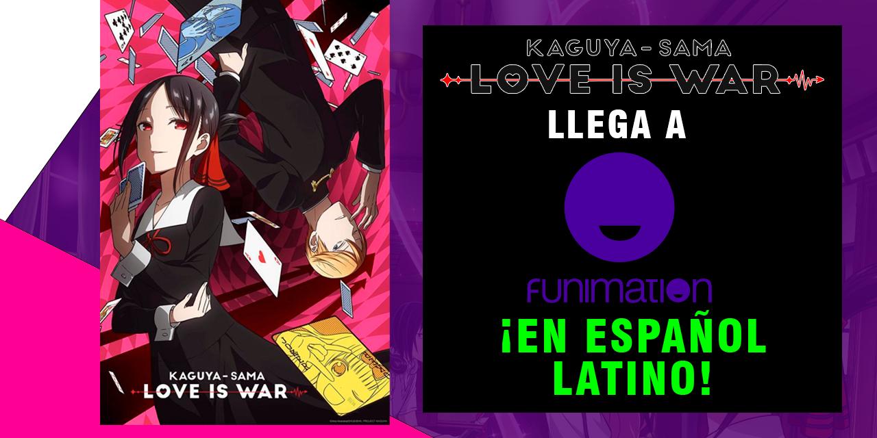"""""""Kaguya-sama: Love is War"""" estará disponible con doblaje latino en Funimation"""
