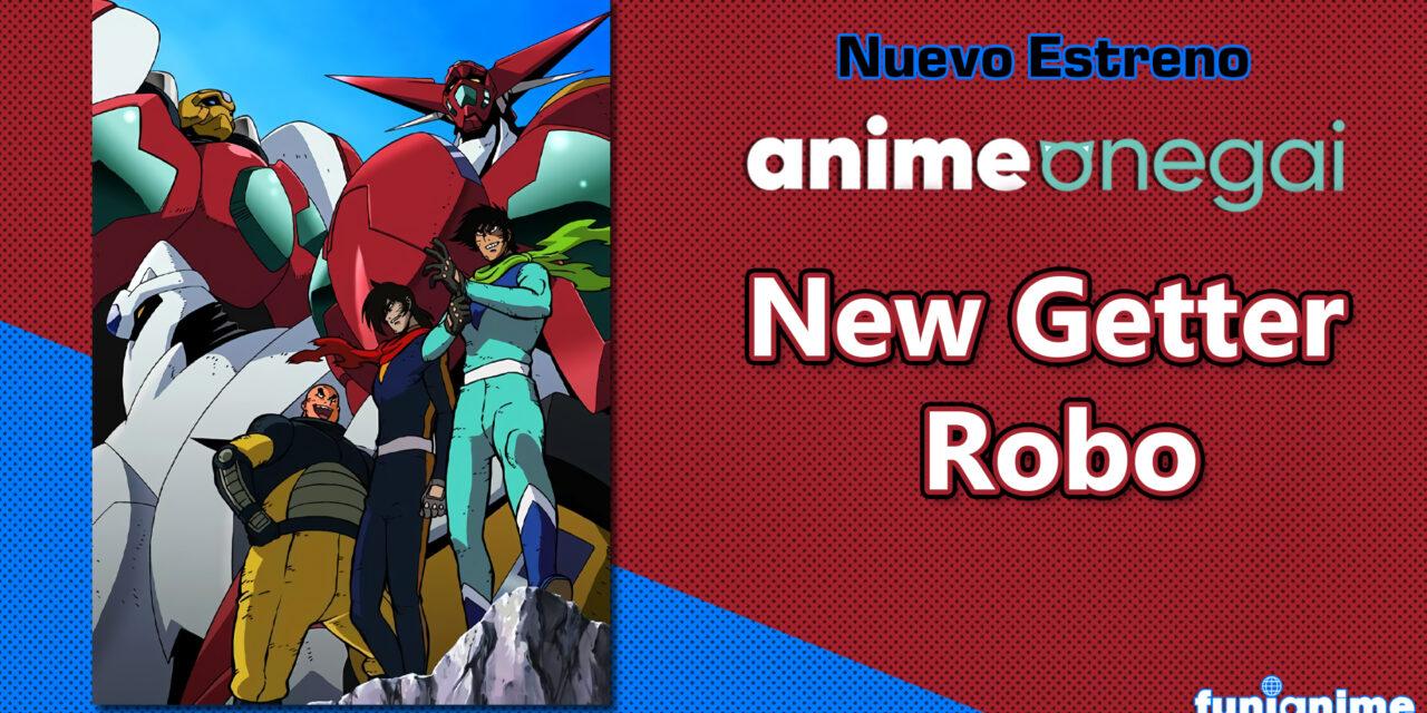 """""""New Getter Robo"""" llegará al catalogo de @Anime_Onegai"""