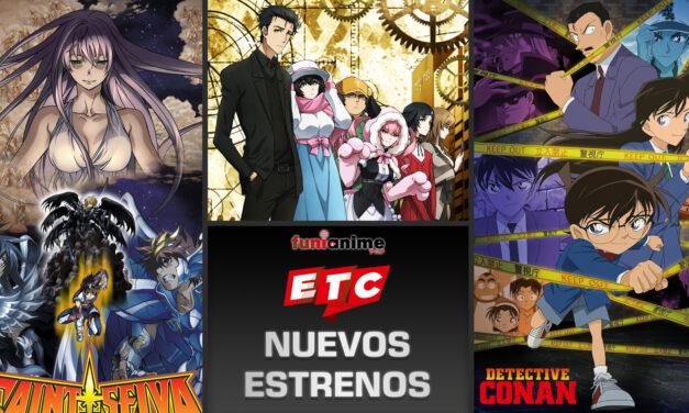 EL canal chileno ETC anuncia nuevos animes para Agosto.