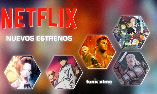 Netflix –  estrenos de anime en Agosto 2021