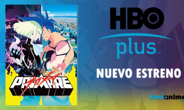 """""""Promare"""" se estrenará en el canal HBO plus"""
