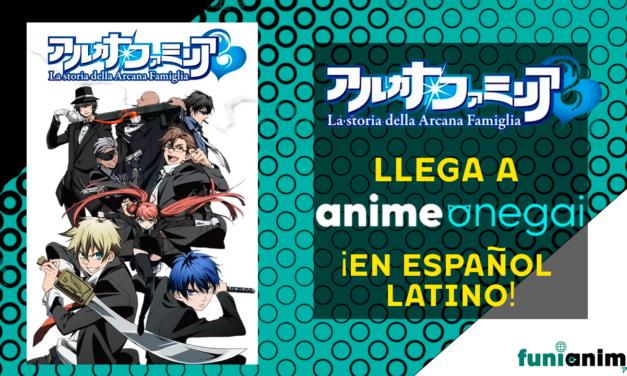 "Llega el anime ""La historia de la Arcana Famiglia"" con doblaje a Anime Onegai"