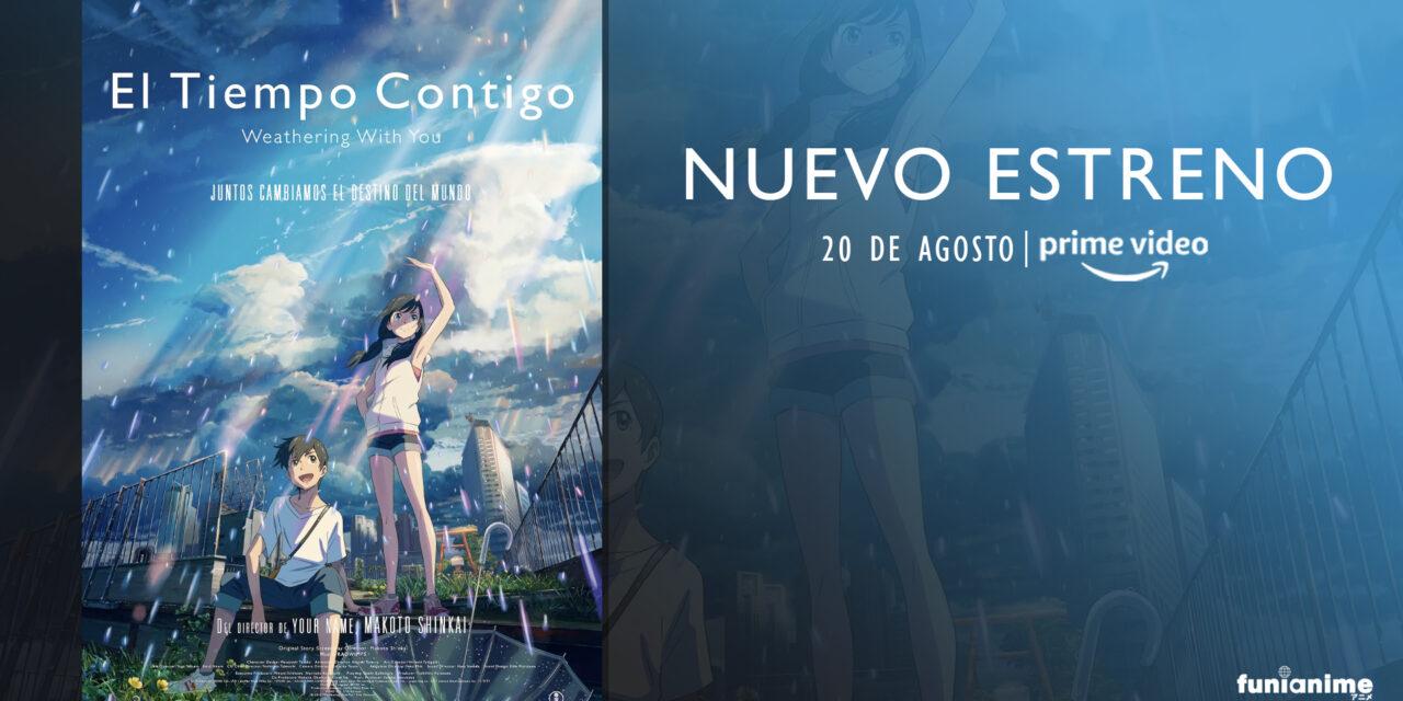 «El Tiempo Contigo» llegará al catalogo de Prime Video