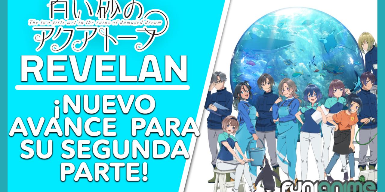 Se revela un avance para la segunda parte del anime Shiroi Suna no Aquatope