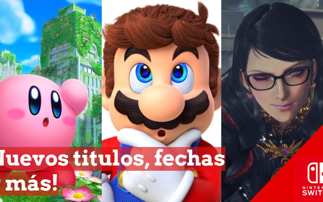 Resumen del Nintendo Direct: Bayonetta 3, Kirby and the forgotten land y más!