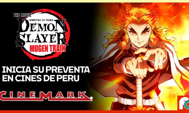 Demon Slayer: Mugen Train se estrenará en las salas de Cinemark-Perú