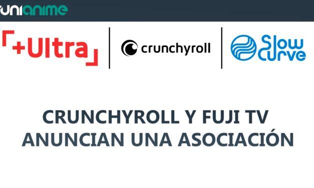 Crunchyroll y Fuji TV anuncian una asociación para desarrollar nuevos animes