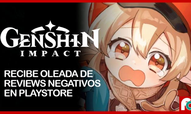 Genshn Impact registra una estrepitosa caída en sus calificaciones de la Play Store