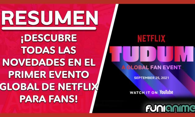 Resumen de las novedades anime de TUDUM (el evento virtual de Netflix)