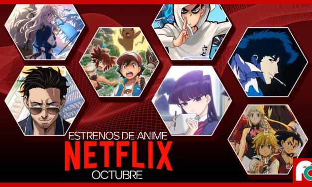 Netflix – Estrenos de anime en Octubre 2021