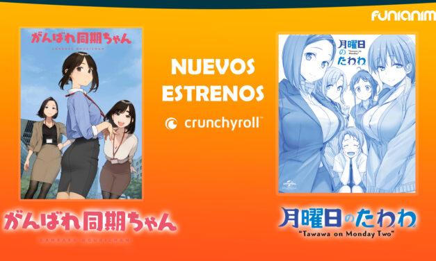 Ganbare Douki-chan y Tawawa on Monday temporada 2 ya se encuentran en transmisión en Crunchyroll