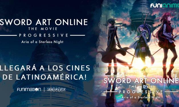 «Sword Art Online -Progressive- Aria of a Starless Night» llegará a cines de Latinoamérica