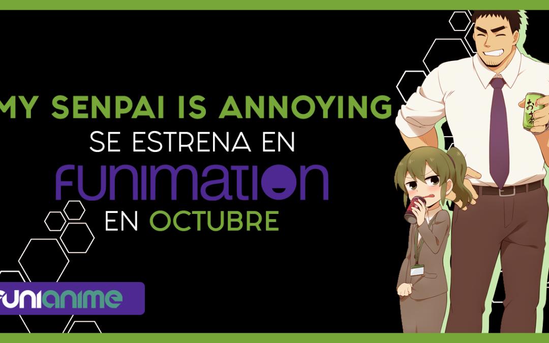Se revelan la fecha de estreno y el trailer del anime My Senpai is Annoying