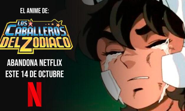 «Los Caballeros del Zodiaco» abandonará el catalogo de Netflix el próximo mes